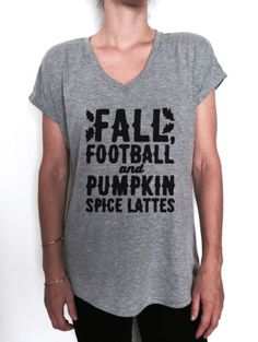 FALL-FOOTBALL-AND-PUMPKIN-SPICE-LATTES-TSHIRT-vneck-FUNNY-WOMEN-HIPSTER-CUTE