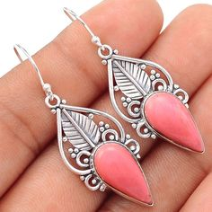 Stone Types: Pink Opal. Jewelry from XTREMEGEMS is trendy and unique. The one-of-a-kind piece you see here is the same exact piece you will receive. Each piece is hallmarked 925. Setting Metal: 925 Solid Sterling Silver. | eBay!