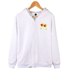 Saint valentine Sweatshirts Full-Zip Lightweight Hoodies Jacket Long Sleeve Coat -- Click on the image for additional details. (This is an affiliate link and I receive a commission for the sales) #FashionHoodiesSweatshirts