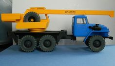 This vehicle paper model is a Mobile Crane KS-2573, created by Firs, and the scale is in 1:25.