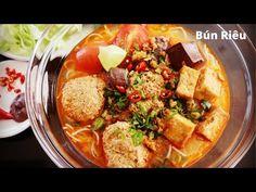 (582) Cách nấu BÚN RIÊU CẤP TỐC thơm ngon, nhanh gọn   Vietnamese Crab Noodle Soup   Mai Khôi - YouTube