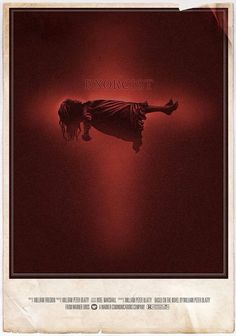 The Exorcist (1973) poster art