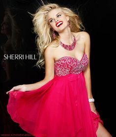 Short Prom Dress 3834 by Sherri Hill-another fun Homecoming Dress