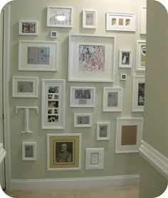 Pic frames from floor to ceiling