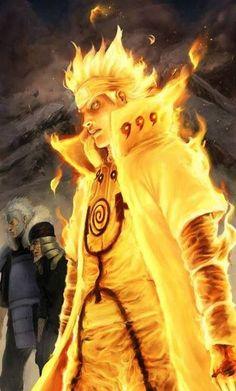Naruto Kyiubii Chakra Mode