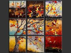 Original Canvas Landscape Paintings for sale by the artist ⋆ ART by LENA Paintings I Love, Paintings For Sale, Landscape Art, Landscape Paintings, Original Artwork, Original Paintings, Romance Art, Art Series, Tree Art