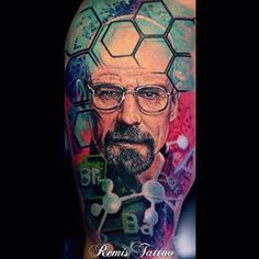 "Community Post: 38 ""Breaking Bad"" Tattoos For Fans Who Never Tread Lightly"