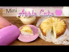 (4) How To Mini Apple Cake Tutorial // DIY Miniature Food - YouTube