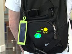 GranolaStrolla is a portable, affordable and easy to use solar charged batterypack able to charge USB devices as fast as a wall charger