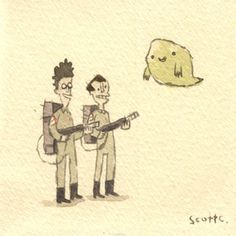 I love Ghostbusters. I love Scott Campbell. I need this print.
