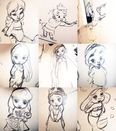 "Disney Animator""s Collection Sketches"