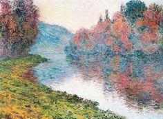 Automne à Jeufosse (C Monet - W 914), 1884