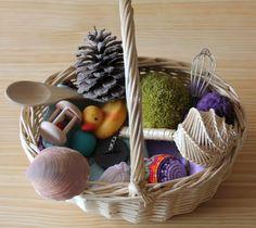La petite maison: La cesta de tesoros