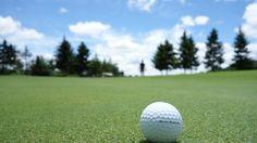 golf, campo, cesped, bola, green, silueta, árboles, cielo, nubes, 1706121211