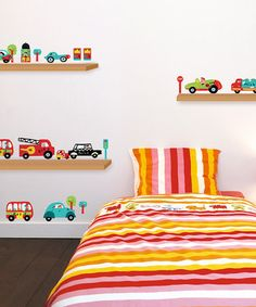 Take a look at this Car Wall Decal Set by Nouvelles Images on #zulily today!