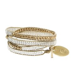 This Bead and Leather Wrap Bracelet is made by deaf women in Kenya, and isn't the detailing exquisite? It will become your go-to style piece, an easy way to look and feel great!