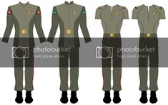 Click this image to show the full-size version. Star Trek Uniforms, Great Scott, Warrant Officer, State Of Oregon, Clean Slate, Red Shirt, Battle, Image
