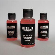 Natural minty Hand Sanitizer with Aloe Vera 90 fl oz - Natürliche minzige Handdesinfektionsmittel mit Aloe Vera 90 The Killers, Aloe Vera, Shops, Hand Sanitizer, Perfume Bottles, Hands, Personal Care, Stay Safe, Etsy Shop