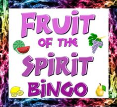 30 unique cards, clues, markers and directions for learning scriptures associated with the fruits of the spirit mentioned in Galatians 5: 22 & 23.