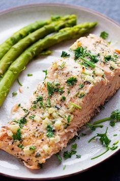 Baked Parmesan Garlic Herb Salmon in foil | The Recipe Critic