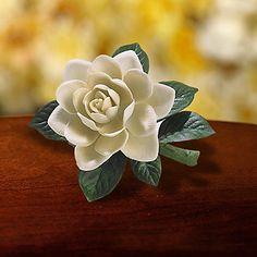 Gardenia figurine from the Lenox Garden Flowers collection