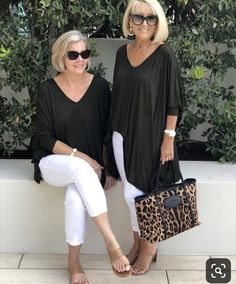 Best Fashion Tips For Women Over 60 - Fashion Trends Over 60 Fashion, Over 50 Womens Fashion, Fashion Over 50, Cheap Fashion, High Fashion, Mode Outfits, Casual Outfits, Fashion Outfits, Fashion Tips