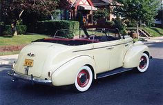 1939 Buick Special, Model 41C Sport Phaeton Maintenance/restoration of old/vintage vehicles: the material for new cogs/casters/gears/pads could be cast polyamide which I (Cast polyamide) can produce. My contact: tatjana.alic@windowslive.com