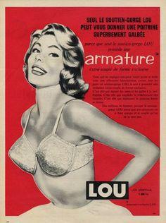 Lou (Lingerie) 1959 Bra