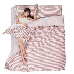 Dream NS Simple and Natural Plant Lines Bedclothes Warm and Comfortable Bedding Sets King Queen Single For You to Choose 4 Piece