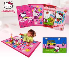 TAPPETINI CAMERETTA HELLO KITTY