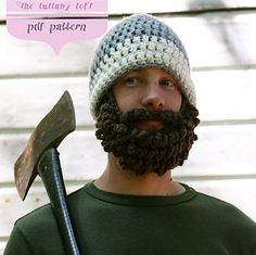 Free crochet beard pattern how awesome pinteres beard man hat crochet w photo pattern pattern by jual hopkins of the lullaby loft dt1010fo