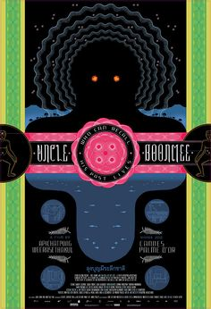 So looking forward to adding this to my personal collection...Chris Ware's killer poster for Uncle Boonmee Who Can Recall His Past Lives, the 2010 Palme d'Or winner at Cannes.