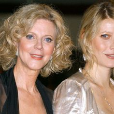 Gwyneth Paltrow et sa mère Blythe Danner à Los Angeles, en 2004.