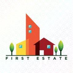 First Estate logo Logo Branding, Logos, Logo Real, Family Illustration, Make Your Logo, Social Media Design, Business Cards, Templates, Gratitude