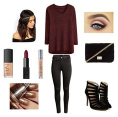 """""""Untitled #6"""" by skaur-i on Polyvore featuring H&M, Forever 21, NARS Cosmetics, ASOS and Urban Decay"""