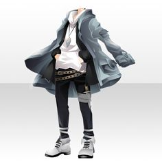 Anime Outfits, Boy Outfits, Cute Outfits, Fashion Outfits, Kleidung Design, Drawing Anime Clothes, Clothing Sketches, Fashion Design Drawings, Star Girl