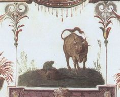 """""""Alterius non sit qui suus esse potest"""" (Fedro) """"Let no man belong to another who can belong to himself"""" PHOTO: Jacopo Zucchi - The Frog and the Ox, 1580 - Villa Medici, Rome http://www.romeandart.eu/index1.html"""