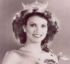 Miss America 1982  Then: Elizabeth Ward reportedly wore a gown made from a tablecloth and used her pageant money to study acting.