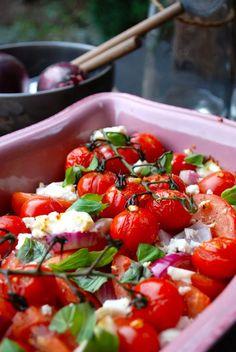 Feta, Low Carb Recipes, Healthy Recipes, Healthy Food, Go For It, Soul Food, Vegetable Recipes, I Foods, Feel Better