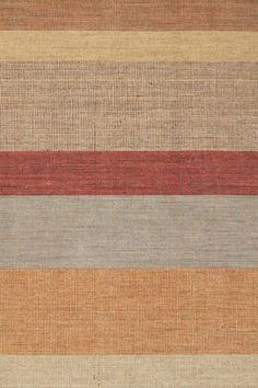 #DashAndAlbert Tweed Stripe Wool Woven #Rug. We're digging this fresh, rustic take on a classic pattern, in a unique weave and a warm, inviting palette.