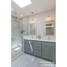 Zenith Carrara Marble Hexagon Tile in White White Master Bathroom, Bathroom Red, Master Bathroom Renovation, Modern Farmhouse Bathroom, Bathroom Layout, Bathroom Remodel Master, Bathroom Redo, Bathroom Remodel Shower, Honed Marble Tiles