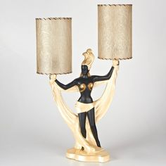 Early Continental Art Lamp