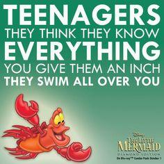 Oh Sebashtian, the Jiminy of the sea lol