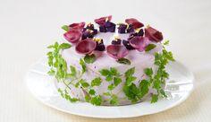 Salada sem gra�a nunca mais. Veja as saladas em forma de bolo