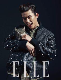 Taecyeon - Elle Magazine December Issue '13