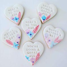 Mother's Day Cookies Mother's Day Cookies, Heres To You, Happy Mothers, Happy Day, Food, Essen, Meals, Yemek, Eten