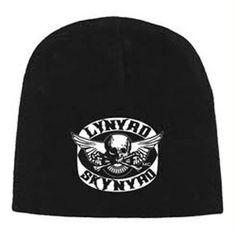 199ad41f10649 Lynyrd Skynyrd Skull Wing Beanie Hat  fashion  clothing  shoes  accessories   mensaccessories
