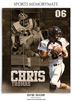 Chris-Thomas-Football- Sports MemoryMate Photography Photoshop Template