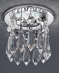 Interesting....Bling for recessed lighting! Hmmmm.. would love to see in a room