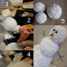 gOt cHiKiN?: Snowman Topiary